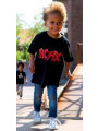 Kids ACDC T-Shirt walking on the street