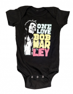 Bob Marley body baby rock metal Smile Love