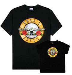 Duo Rockset Guns 'n Roses Vater-T-shirt & Kinder-T-shirt