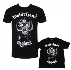Duo Rockset Motörhead Vater-T-shirt & Baby-T-shirt
