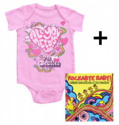 Beatles body baby rock metal All You Need Is Love & Beatles RockabyeBaby CD