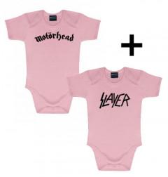 Motörhead body baby rock metal & Slayer Body Pink
