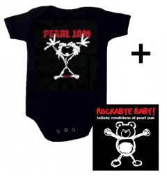 Pearl Jam body baby rock metal Stickman & Pearl Jam CD
