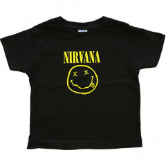 "Nirvana ""Smiley"" Kinder t-shirt"
