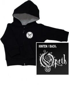 Opeth Logo baby Sweater/Kapuzenjacke (Print On Demand)