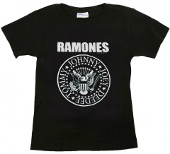 Ramones Shirt Kinder Logo White