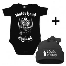 Motörhead Baby Body & Loud & Proud Mützchen