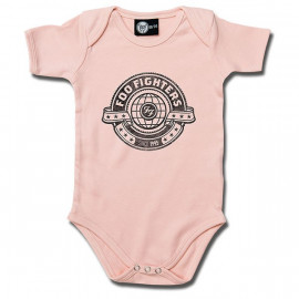 Foo Fighters Baby Body Logo Pink