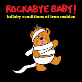 Rockabye Baby CD Iron Maiden