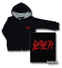 Slayer Logo Red baby Sweater/Kapuzenjacke (Print On Demand)