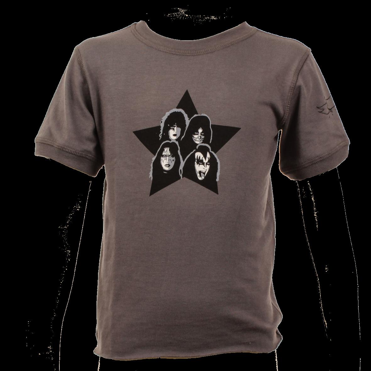 Kiss Baby T-shirt Vintage Black
