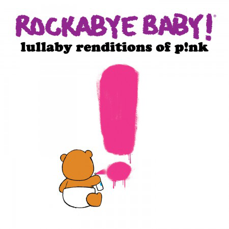 Rockabyebaby Pink CD