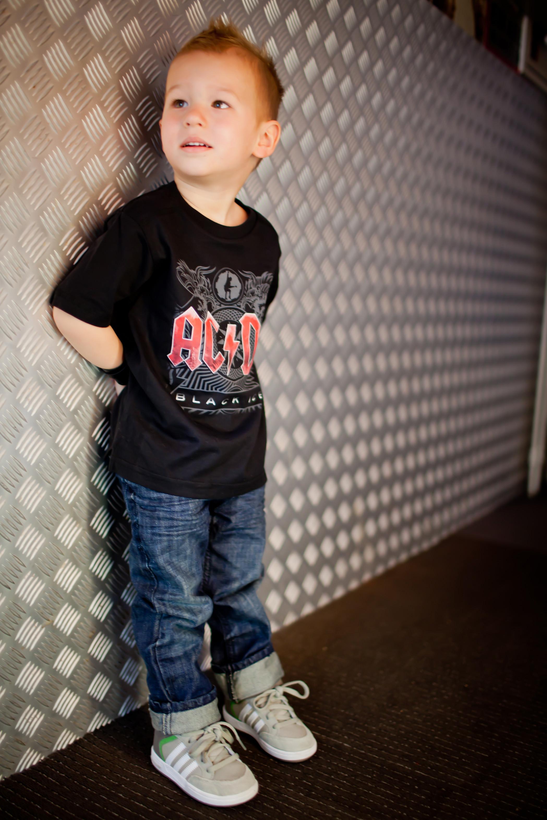 ACDC Metal Kinder T-Shirt Black Ice AC/DC