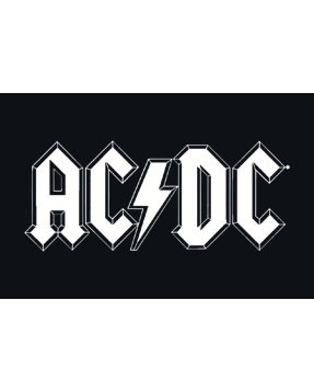 ACDC Kinder T-Shirt Logo white ACDC