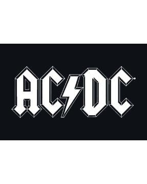 AC/DC Baby Lätzchen Logo
