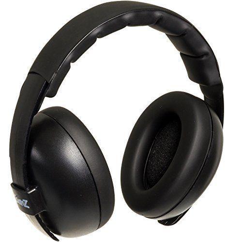 BabyBanz Gehörschutz für Babys Black