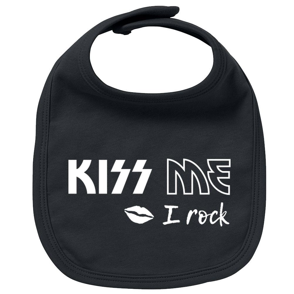 Rock Baby Lätzchen kiss me I Rock