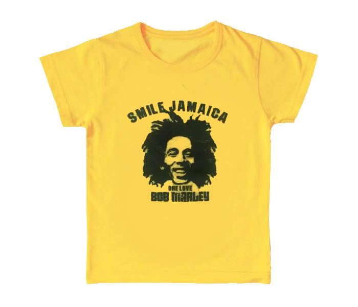 Bob Marley Kinder T-shirt Smile Jamaica