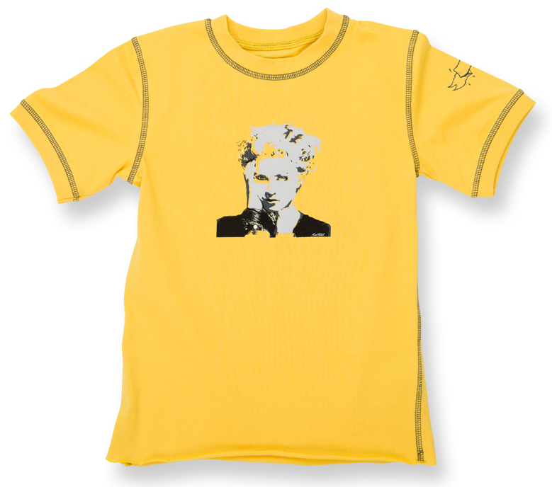 Madonna Baby T-shirt Lemon