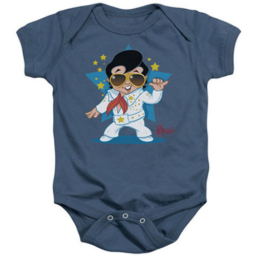Elvis Baby Body Singing Blue
