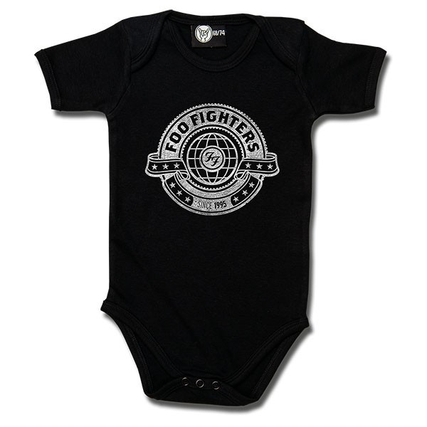 Foo Fighters Baby Body Logo