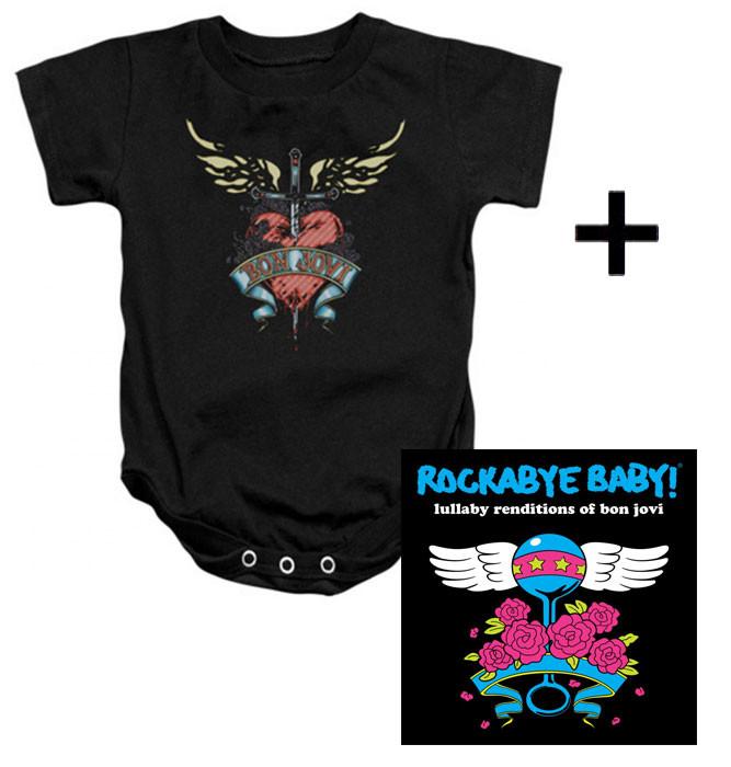 Bon Jovi Baby Body Heart & Bon Jovi CD