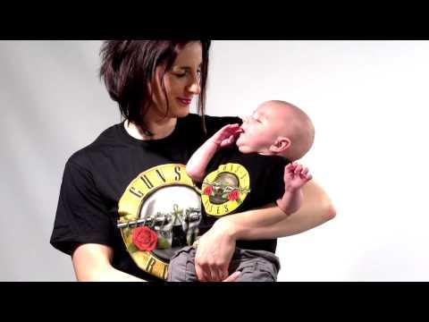Duo Rockset Guns N' Roses Mutter-T-shirt & Baby T-shirt