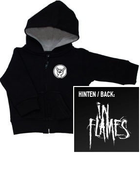 In Flames Logo baby Sweater/Kapuzenjacke (Print On Demand)