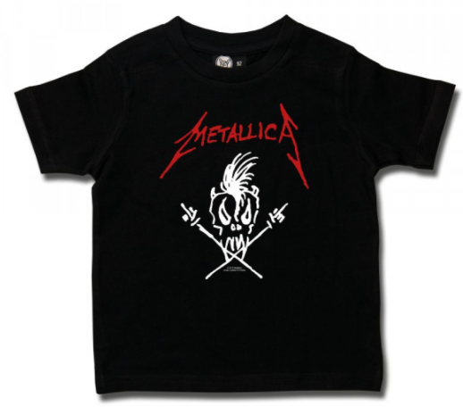 Metallica Kinder T-shirt Scary Guy