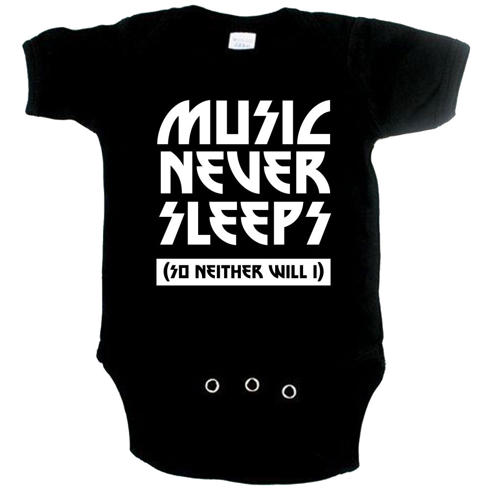 Cool Baby Body music never sleeps so neither will I