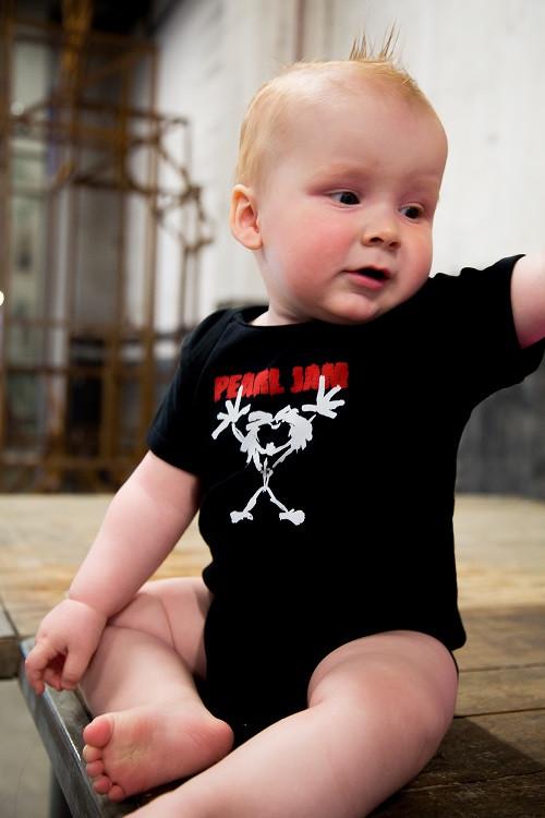 Pearl Jam Baby Body Stickman foto-shooting
