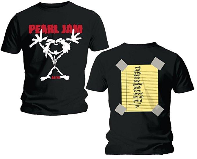 Duo Rockset Pearl Jam Vater-T-shirt & Pearl Jam Baby Body & CD