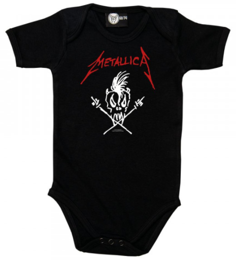 Metallica Baby Body Scary Guy