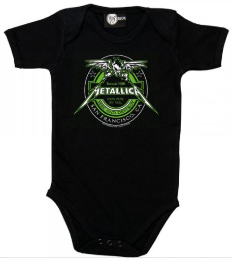 Metallica Baby Body Seek and Destroy