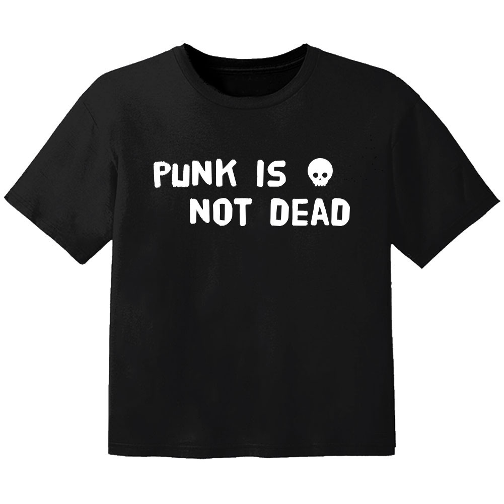 Punk Baby Shirt Punk is not dead