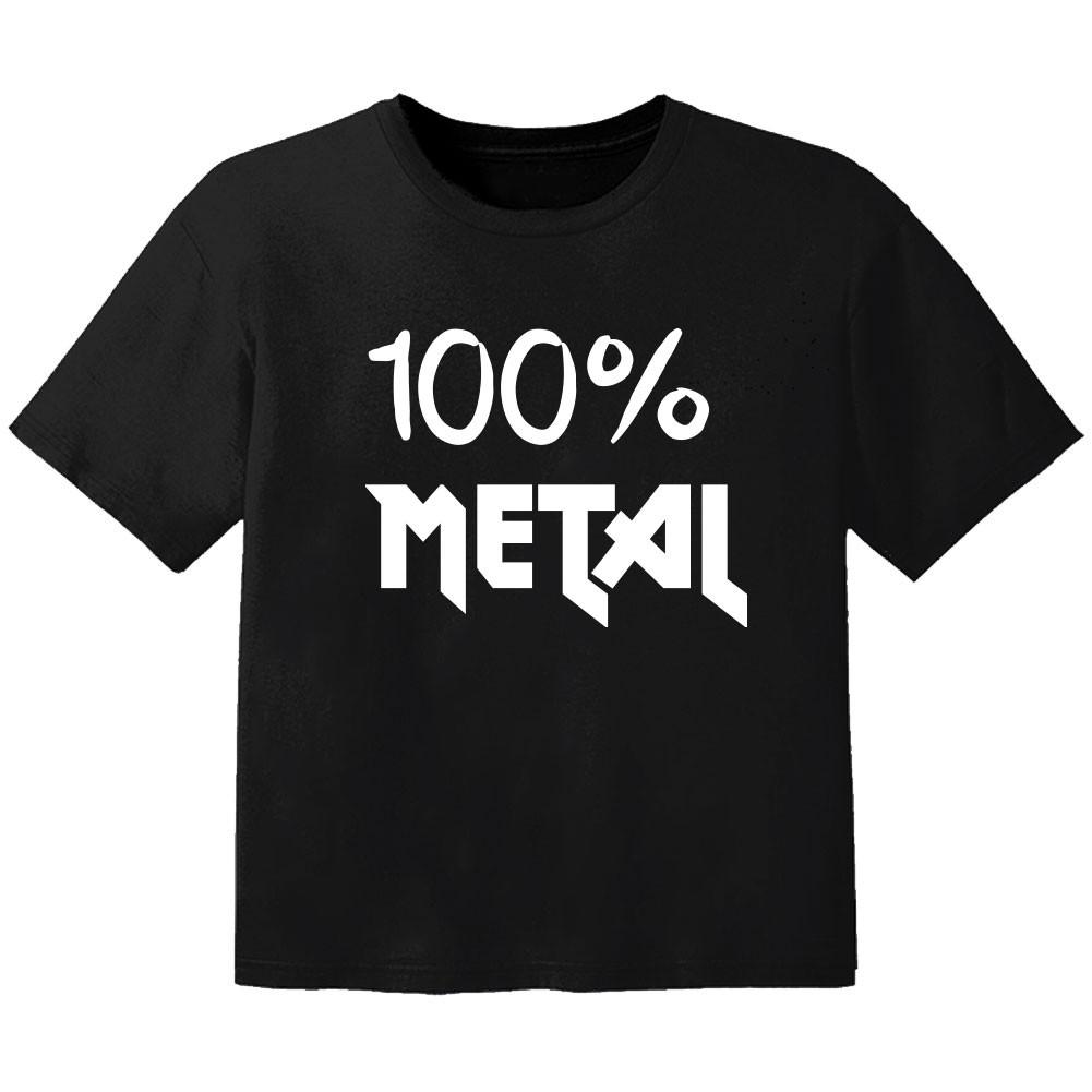 Metal Kinder T-Shirt 100% Metal