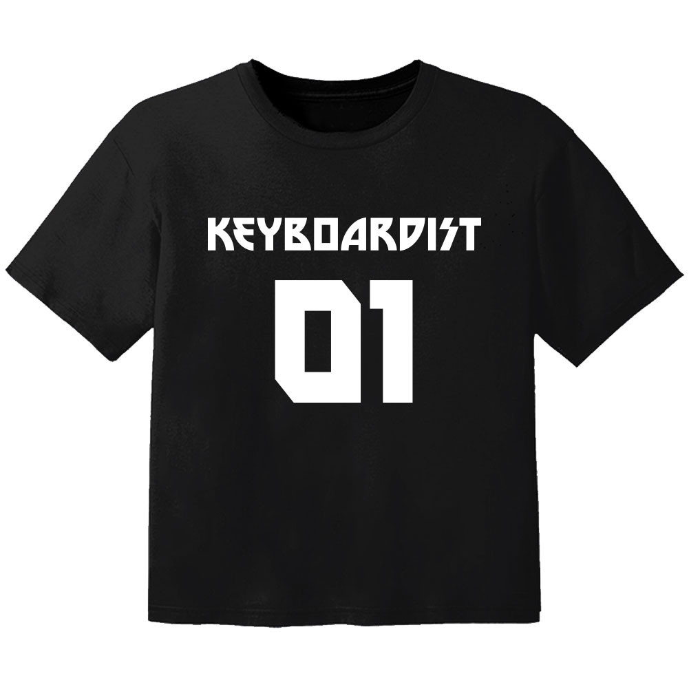 Rock Kinder T-Shirt keyboardist 01