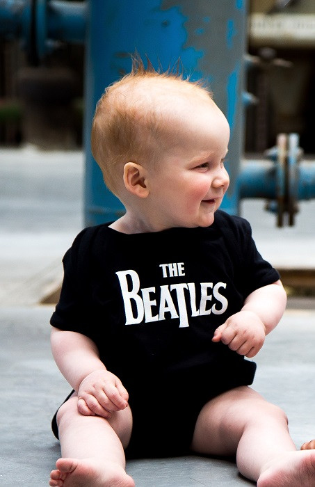 The Beatles Baby Body Eternal foto-shooting