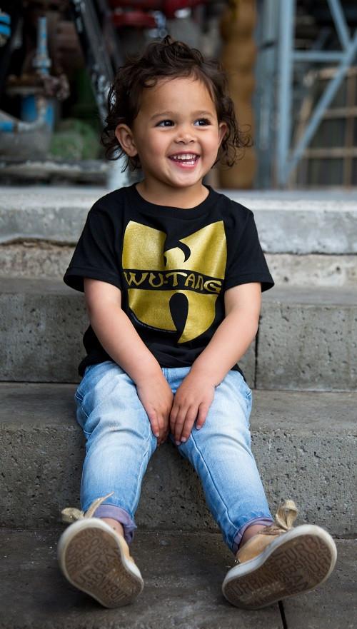 Wu-tang clan Kinder T-shirt Logo foto-shooting