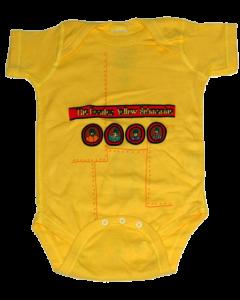 Beatles Baby Body Yellow Submarine