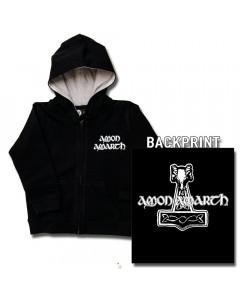 Amon Amarth Thor's Hammer baby Sweater/Kapuzenjacke (Print On Demand)