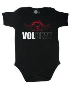 Volbeat Baby Body Skull Wing