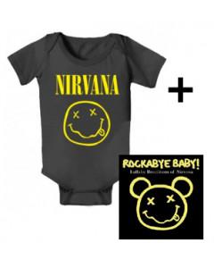 Nirvana Baby Body Smiley & Nirvana Rockabyebaby CD
