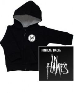 In Flames Logo kinder Sweater/Kapuzenjacke (print on demand)
