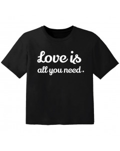 cool Kinder T-Shirt love is all you need