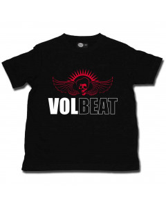 Volbeat Kinder T-Shirt Skullwing Volbeat