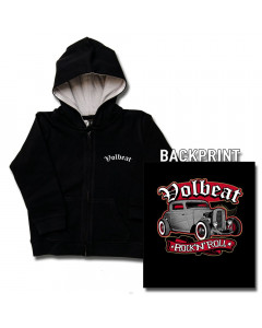 Volbeat Kinder Sweater/Kapuzenjacke/ Zip Hoodie/Kapuzenjacke